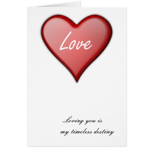 Loving you cards