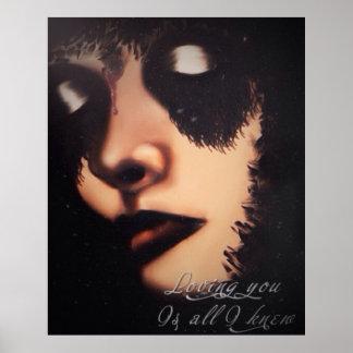 Loving You Is All I Knew Bang Bang Art Poster