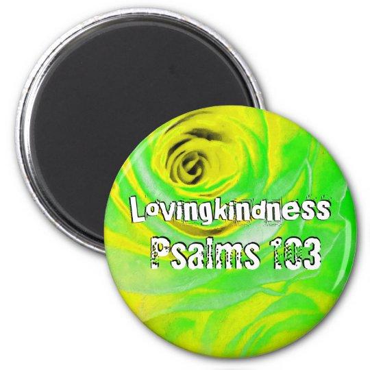 Lovingkindness Psalms Chapter 103 Magnet