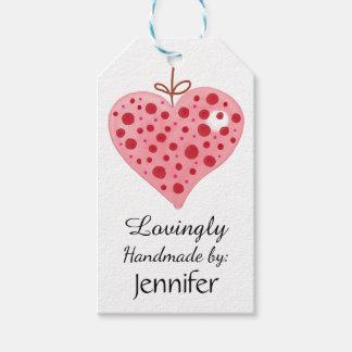 Lovingly, Handmade by: Customizable