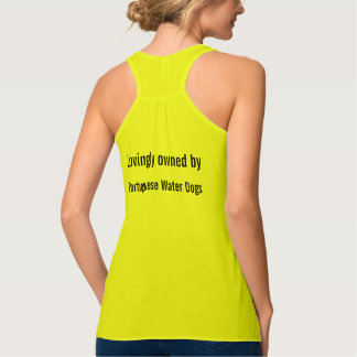 Lovingly Owned by Portuguese Water Dogs Tank Top