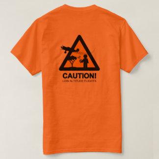 Low altitude flights (Back) T-Shirt