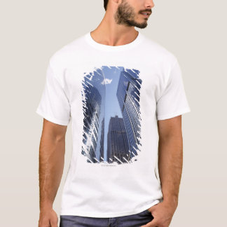 Low angle upward exterior view of downtown 2 T-Shirt
