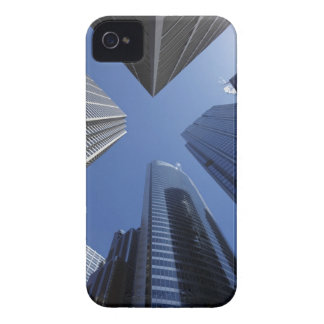 Low angle upward exterior view of downtown iPhone 4 Case-Mate cases