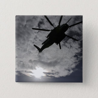 Low angle view of a CH-53E 15 Cm Square Badge