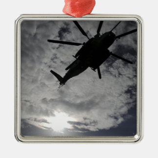 Low angle view of a CH-53E Christmas Tree Ornaments