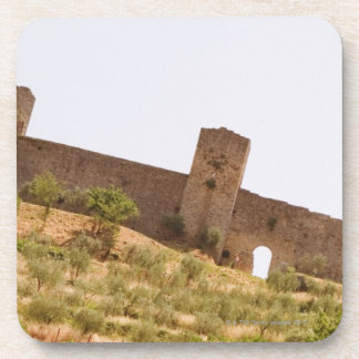 Low angle view of a fort, Monteriggioni, Siena Coaster