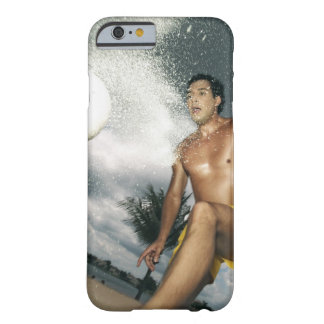 Low angle view of a man playing beach volley barely there iPhone 6 case