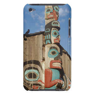 Low angle view of a Totem Pole, Haines, Alaska, Barely There iPod Covers