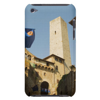 Low angle view of a tower, Torri Di San iPod Touch Case-Mate Case