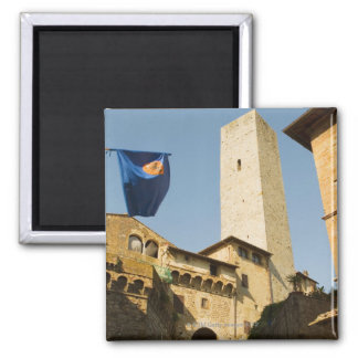 Low angle view of a tower, Torri Di San Magnet