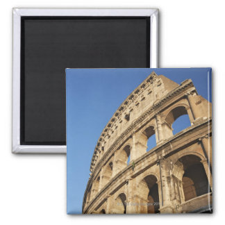 Low angle view of Colosseum Square Magnet