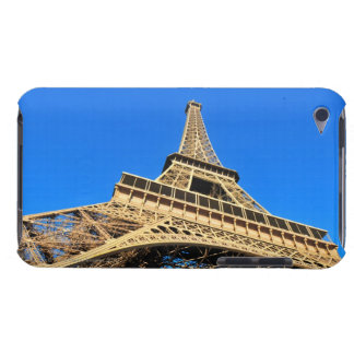 Low angle view of Eiffel Tower against blue sky iPod Touch Case