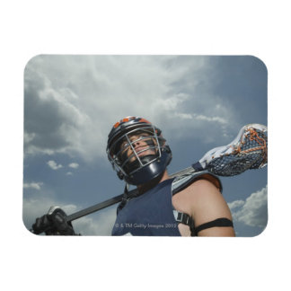 Low angle view of jai-alai player 2 magnets