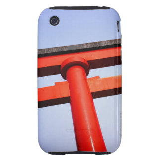 Low angle view of shrine tough iPhone 3 covers