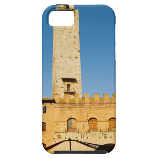 Low angle view of tower of a building, iPhone 5 cases