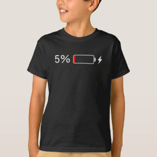 Low Batteries T Shirts