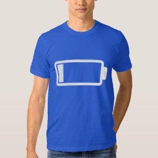 Low Battery - Dark T-shirts