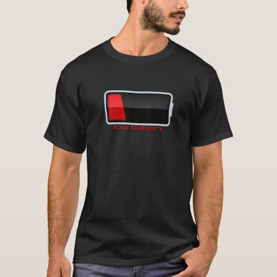 Low Battery T-shirts
