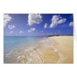 Low Bay Beach, Barbuda, Antigua Greeting Cards