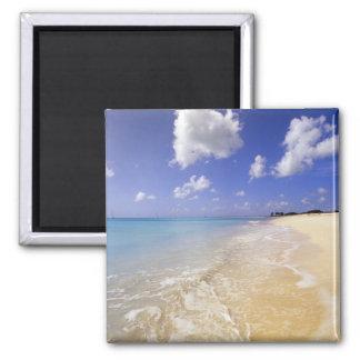 Low Bay Beach, Barbuda, Antigua Square Magnet