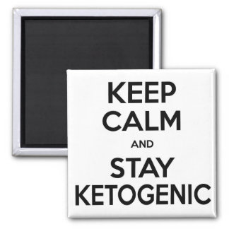 Low Carb Magnet: Keep Calm and Stay Ketogenic