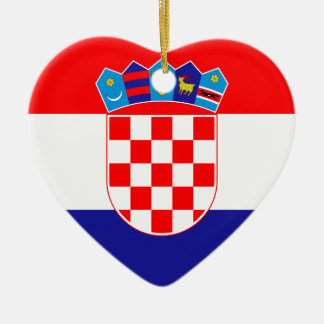 Low Cost! Croatian Flag Christmas Ornament