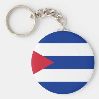 Low Cost! Cuba Flag Key Ring