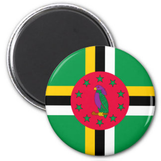Low Cost! Dominica Flag Magnet