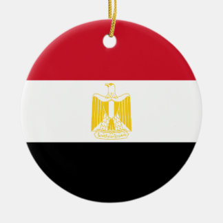 Low Cost! Egypt Flag Christmas Ornament