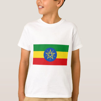 Low Cost! Ethiopia Flag T-Shirt