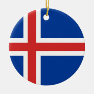 Low Cost! Iceland Flag Christmas Ornament