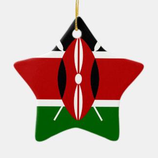 Low Cost! Kenya Flag Christmas Ornament