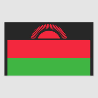 Low Cost! Malawi Flag Rectangular Sticker