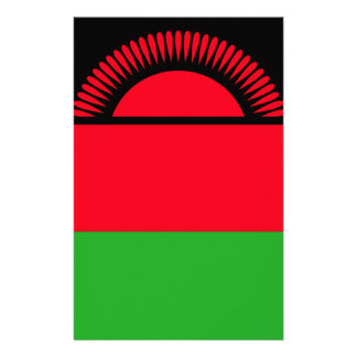 Low Cost! Malawi Flag Stationery
