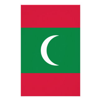 Low Cost! Maldives Flag Stationery
