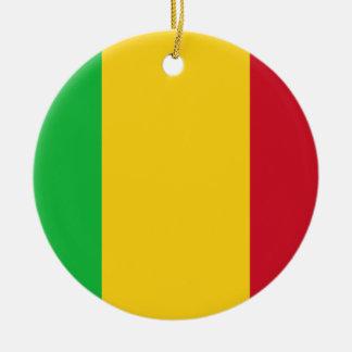 Low Cost! Mali Flag Christmas Ornament