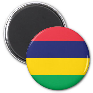 Low Cost! Mauritius Flag Magnet