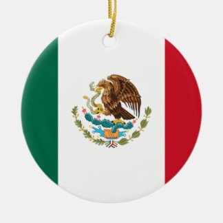 Low Cost! Mexico Flag Christmas Ornament