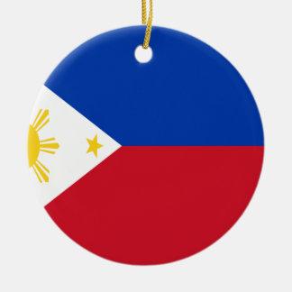 Low Cost! Philippines Flag Round Ceramic Decoration