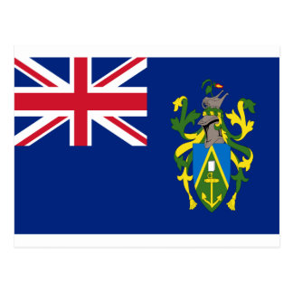 Low Cost! Pitcairn Islands Flag Postcard