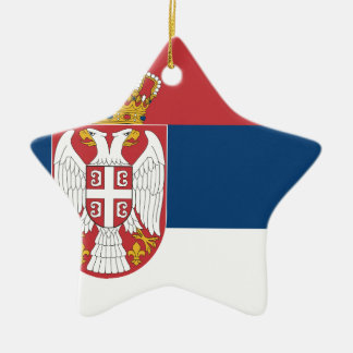 Low Cost! Serbia Flag Christmas Ornament