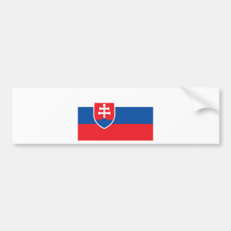 Low Cost! Slovakia Flag Bumper Sticker