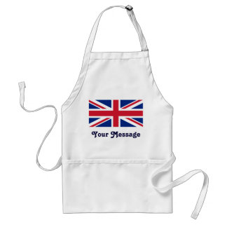 Low Cost Union Jack Flag Crafts Cook Chef Adult Apron