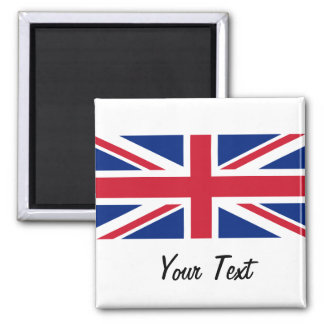 Low Cost Union Jack Flag of Great Britain Magnet