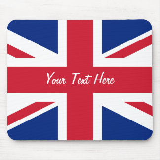 Low Cost Union Jack Flag of Great Britain Mousepad