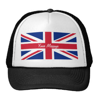 Low Cost Union Jack Flag Sports Team Club Hat