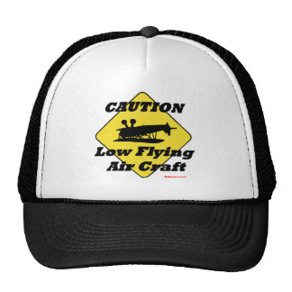 Low Flying Air Craft Trucker Hat