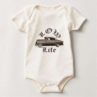 Low Life Oldsmobile Lowrider Baby Bodysuits