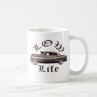 Low Life Oldsmobile Lowrider Basic White Mug